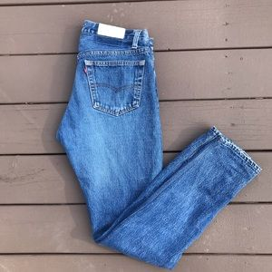 Re/Done Straight Leg Jeans [30]